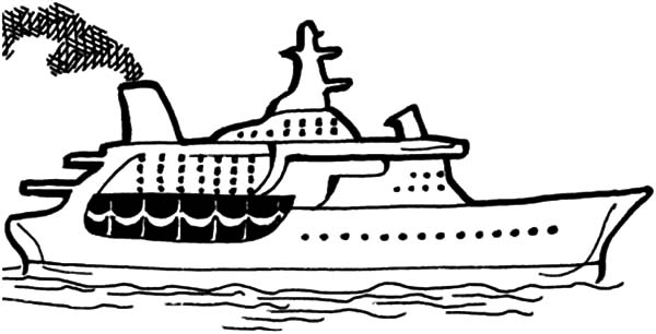 Cruise Ship Coloring Pages For Kids Netart Coloring Pages For Kids Coloring Pages Coloring Pages Inspirational