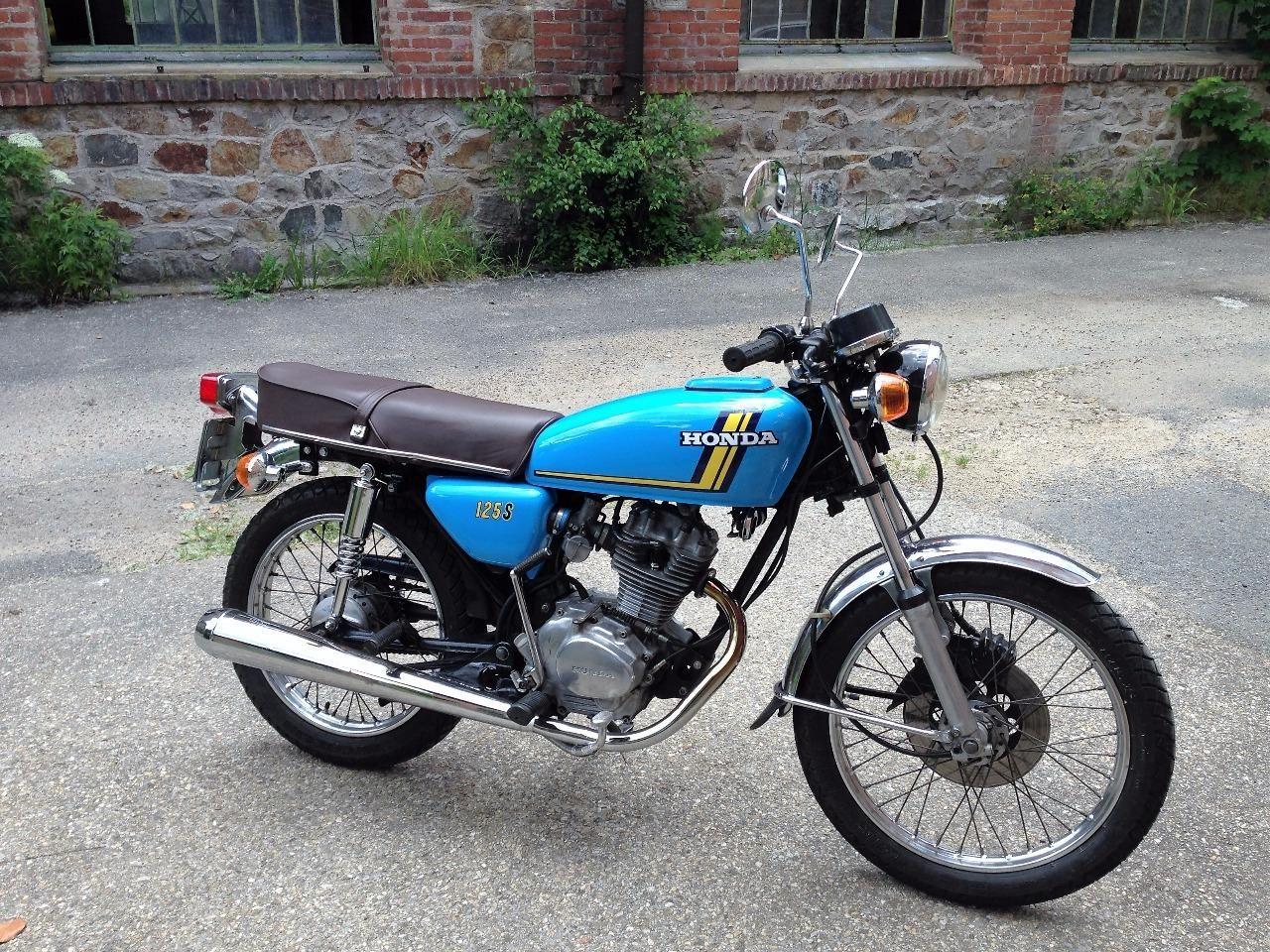 dad 39 s motorcycle honda 125 cb s3 1976 bikes with motors pinterest honda loin et moto. Black Bedroom Furniture Sets. Home Design Ideas