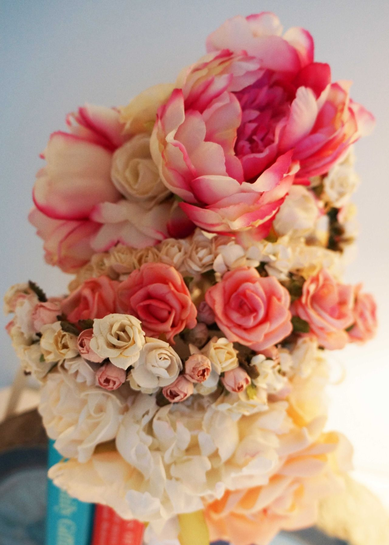 A stack of my faux flower crowns crowns by christy pinterest a stack of my faux flower crowns izmirmasajfo