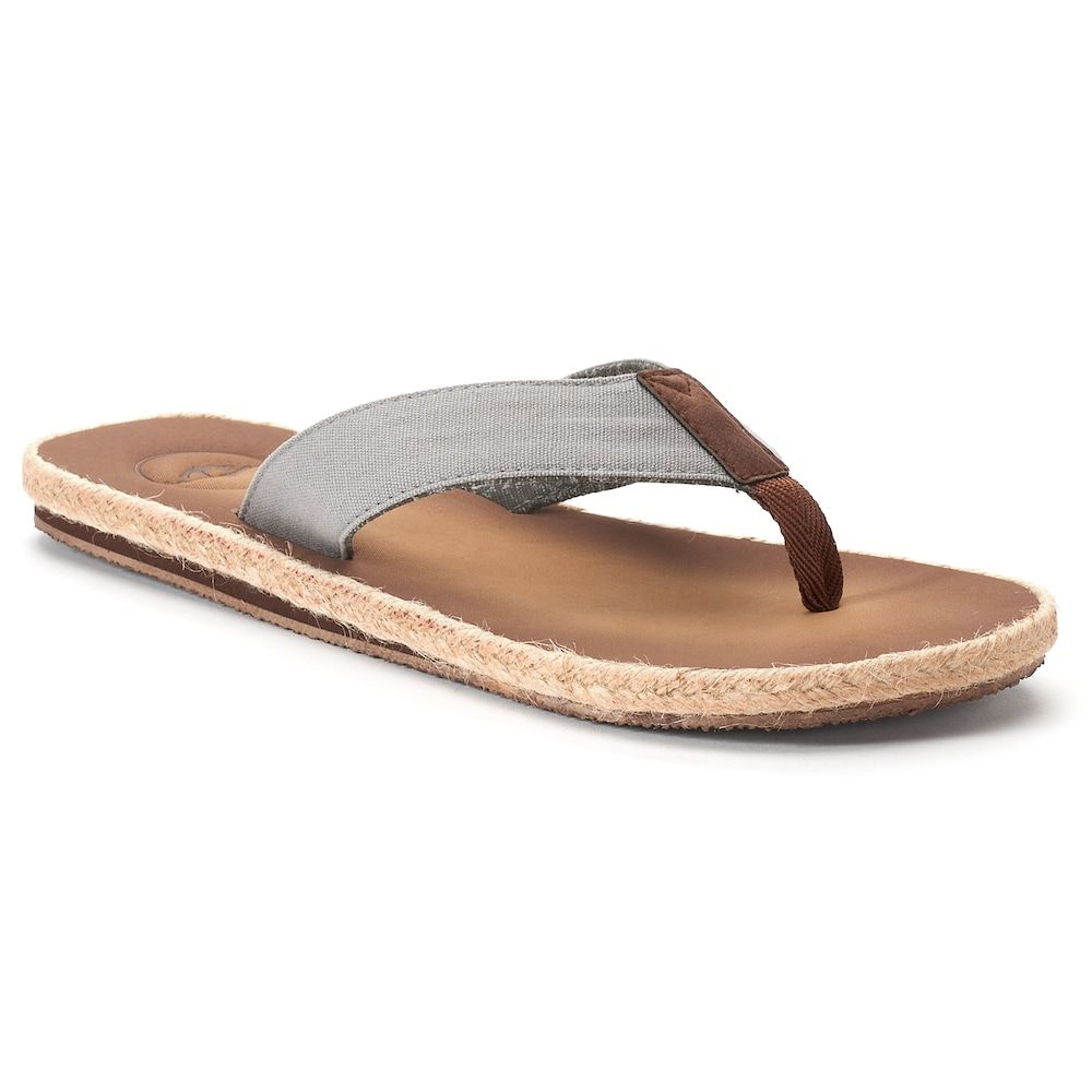 1692a58594fc Men s Dockers Espadrille Flip-Flop Sandals