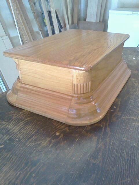 Fancy Step Stool The Stool Is What I Made For My Wife To Get Into