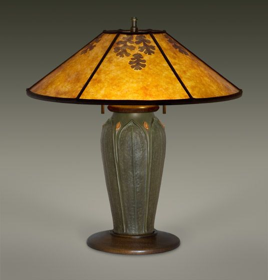 The William Morris Studio Mica Lamp Shades Arts And Crafts Lighting Craftsman Mission Style Ephraim Faience Pottery
