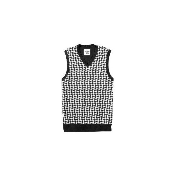 Old Navy Men's Houndstooth Sweater Vests ❤ liked on Polyvore ...