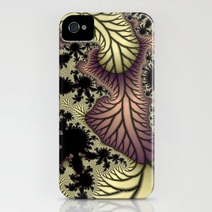 Leaf fractal iPhone Case by Christy Leigh - $35.00