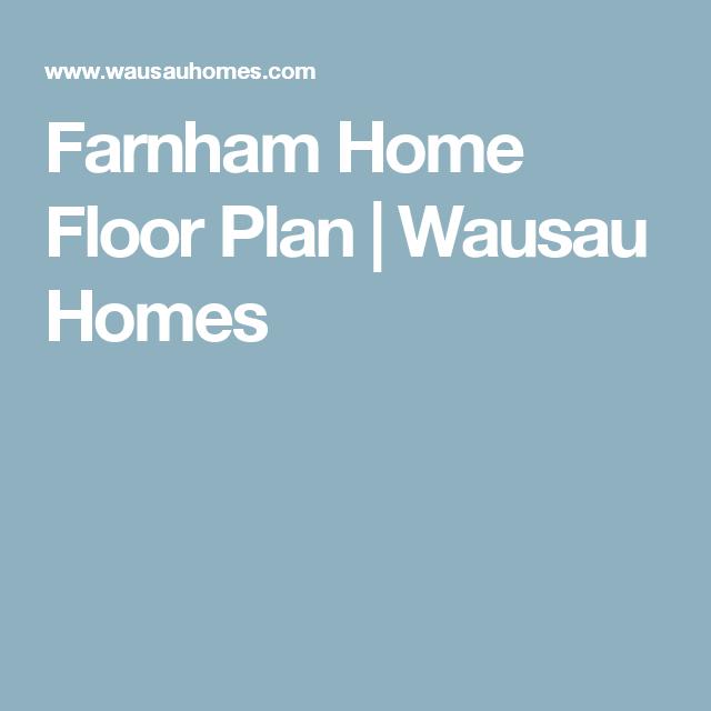 Farnham Home Floor Plan | Wausau Homes