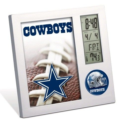 Dallas Cowboys Desk Clock Seattle Seahawks Dallas Cowboys Seahawks