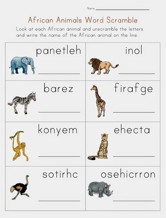African Animals List With Pictures African Animals Pictures And