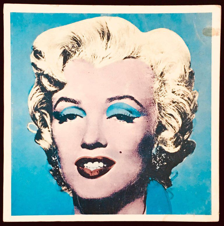 After Andy Warhol Andy Warhol Tate Gallery Catalog 1971 Marilyn And Liz Cover Tate Gallery Vintage Pop Art Andy Warhol