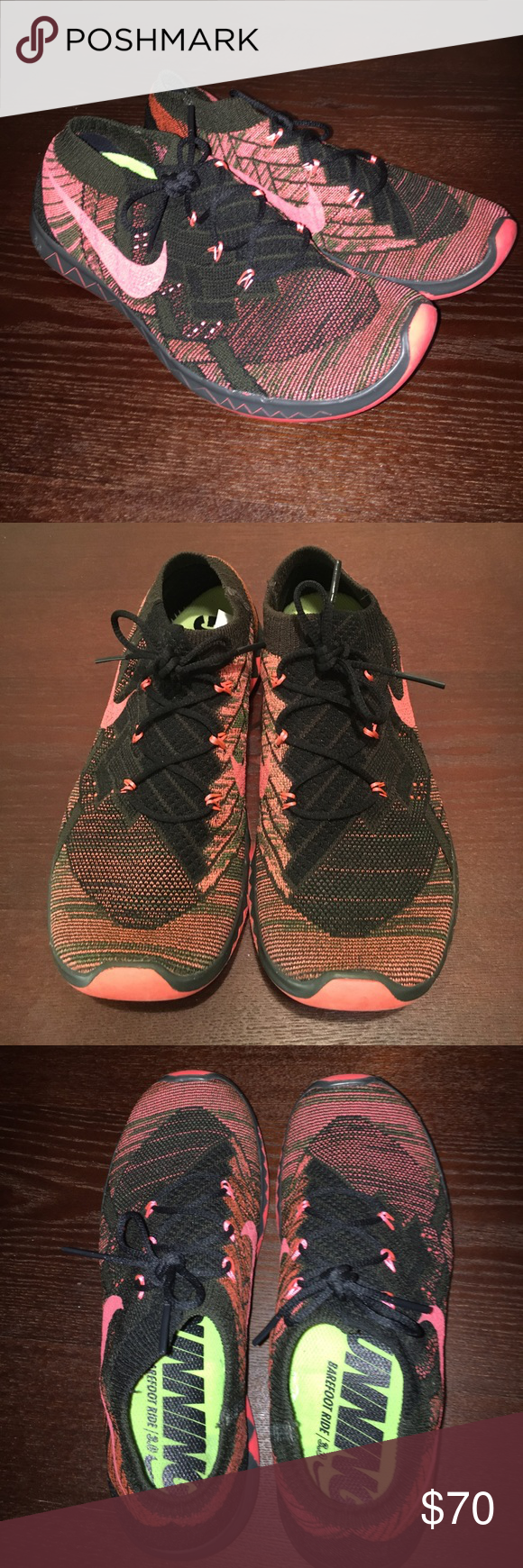 brand new aa454 70910 Super Comfy Nike Free 3.0 Sneakers Only Worn a Few Times, Great Condition!  Coral