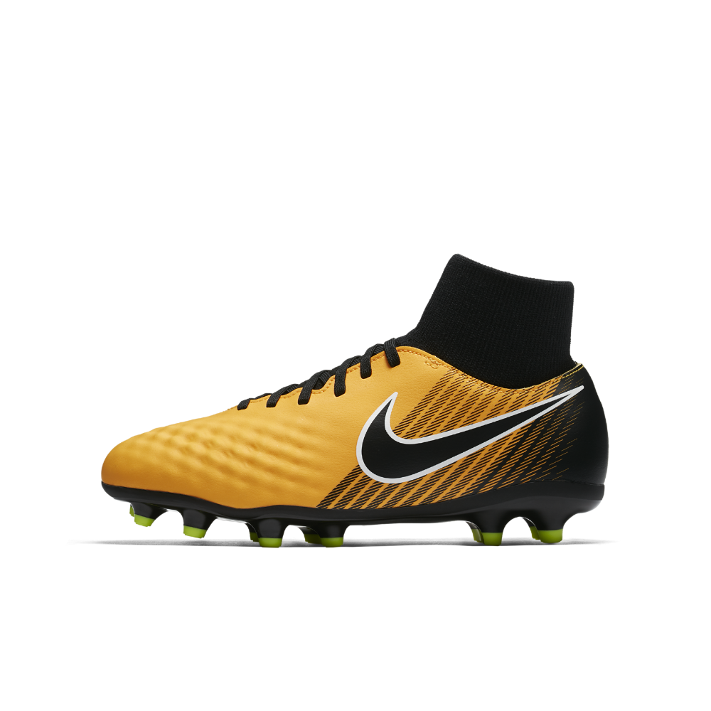 6e486900e Nike Jr. Magista Onda II Dynamic Fit Big Kids' Firm-Ground Soccer Cleats  Size 4.5Y (Orange)