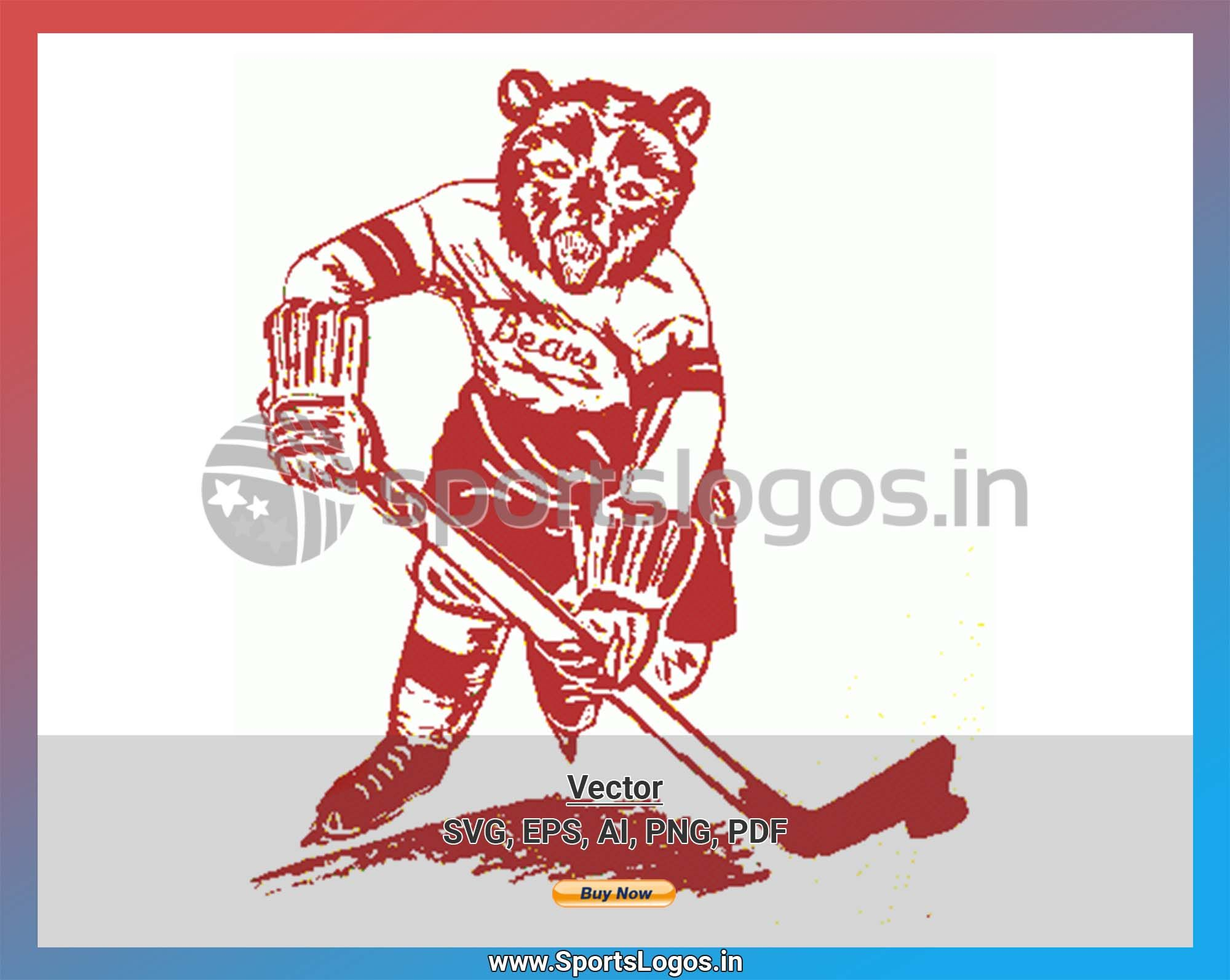Hershey Bears Hockey Sports Vector Svg Logo In 5 Formats Spln001827 Sports Logos Embroidery Vector For Nfl Nba Nhl Mlb Milb And More Embroidery Logo Hershey Bears American Hockey League