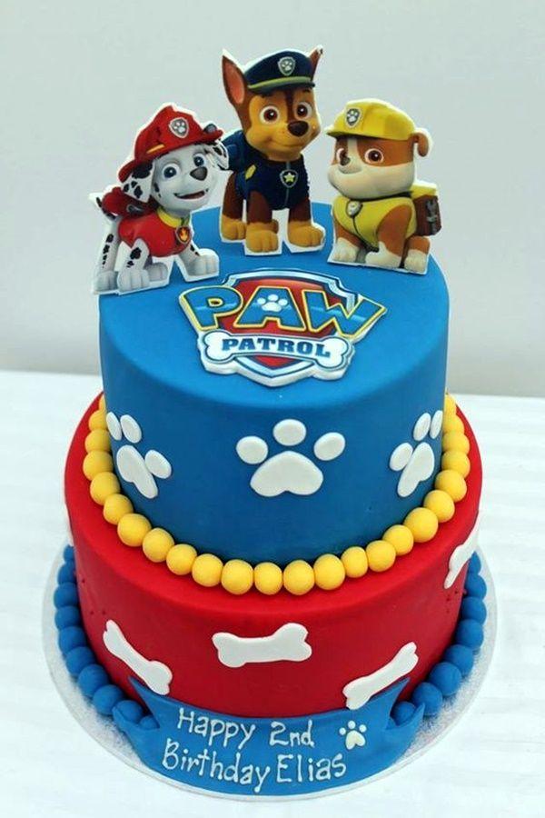 45 herrliche Geburtstags-Kuchen-Entwürfe für Kinder   - paw patrol - #für #GeburtstagsKuchenEntwürfe #herrliche #kinder #Patrol #Paw #17thbirthday