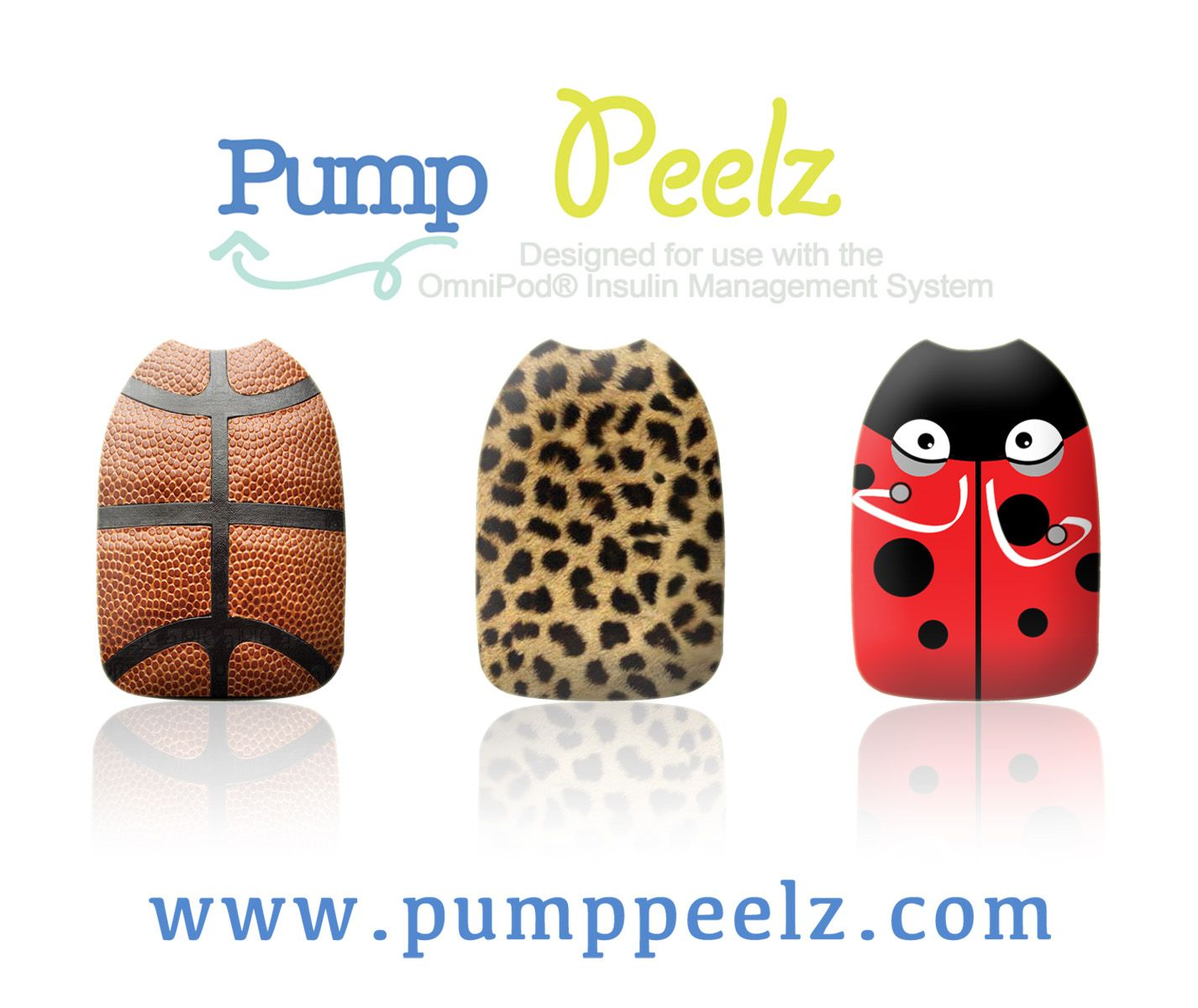 pump peelz are a coated vinyl adhesive designed to fit over the omnipod they are reusable. Black Bedroom Furniture Sets. Home Design Ideas