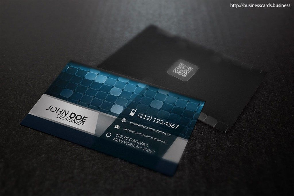 Free Digital Business Card Template #PSD #FREE #Digital ...