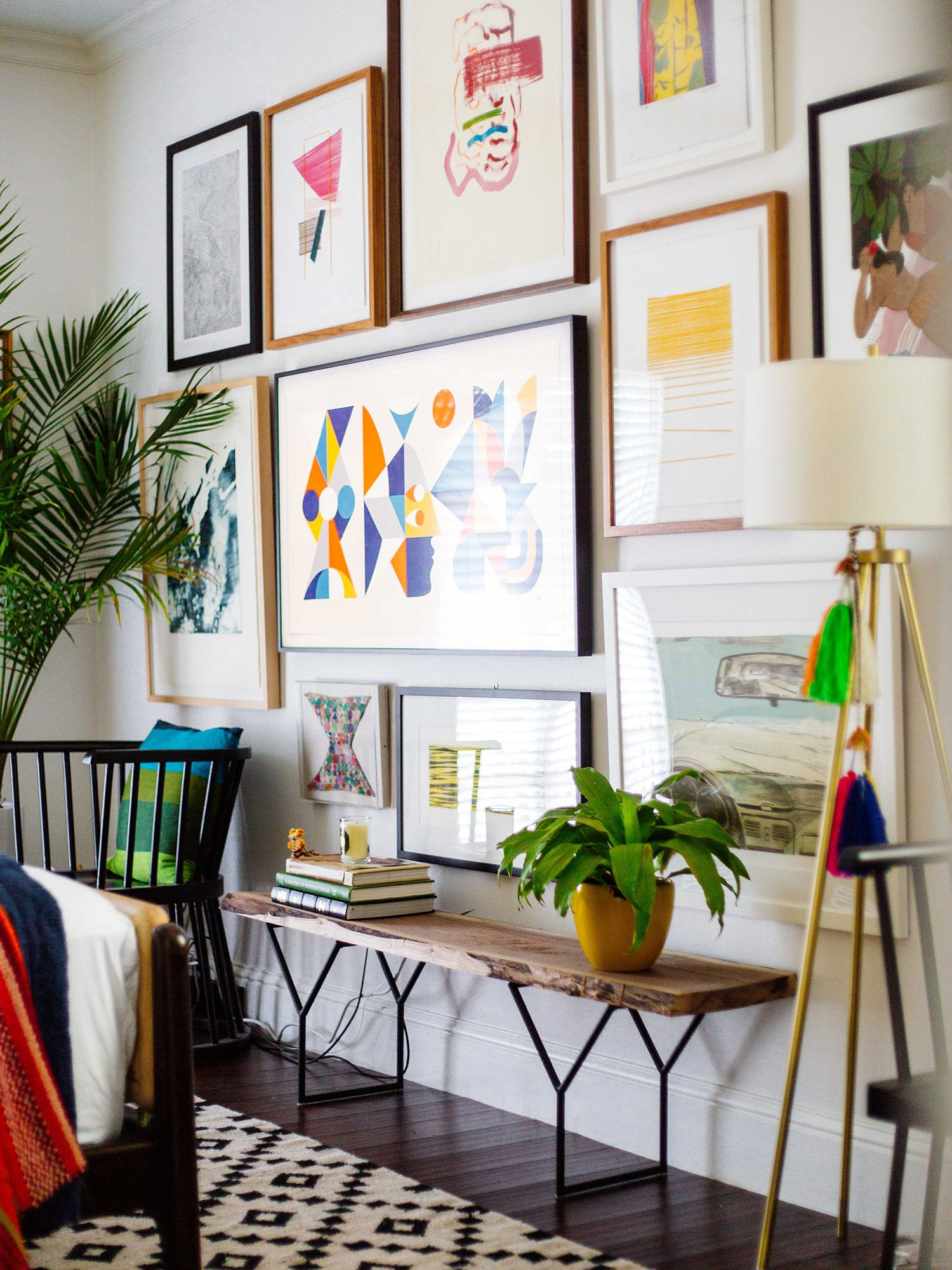 Creating A Gallery Wall With The Frame Tv Framed Tv Home Decor