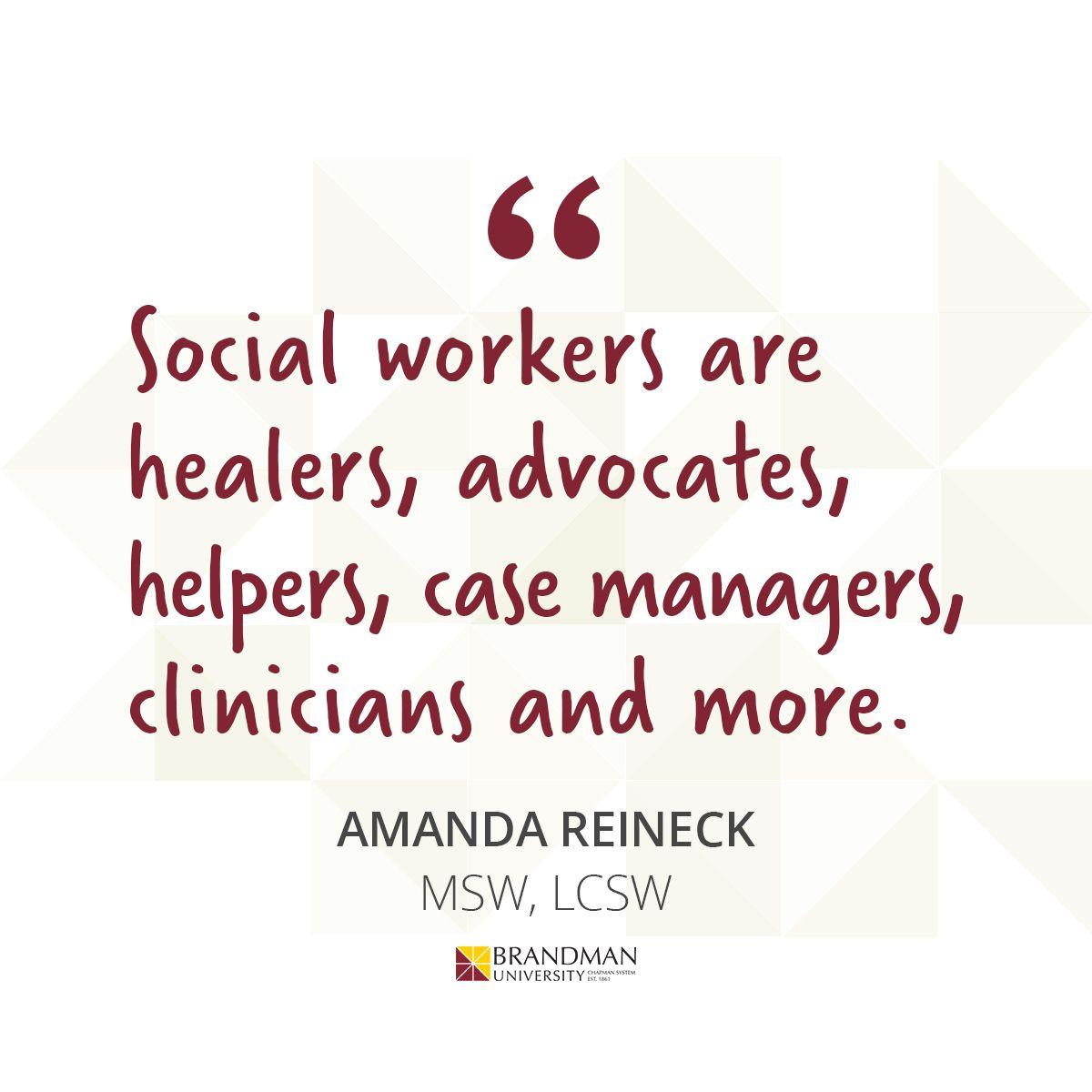 Social Worker Quote in 2020 Social work, Social worker