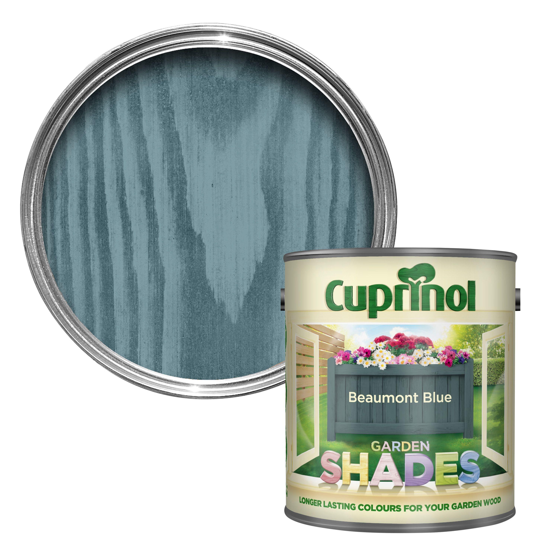 Cuprinol Garden Shades Beaumont Blue Wood Paint 1L