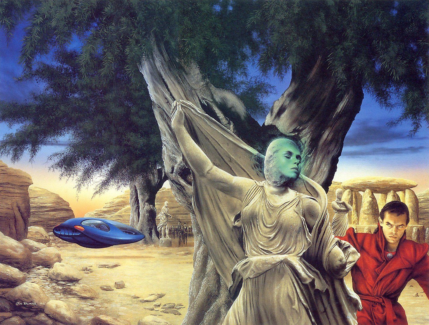 Jim Burns The Man Who Melted Fantasy Sci Fi Art Pinterest Circuit Boardsart Is Interpretation