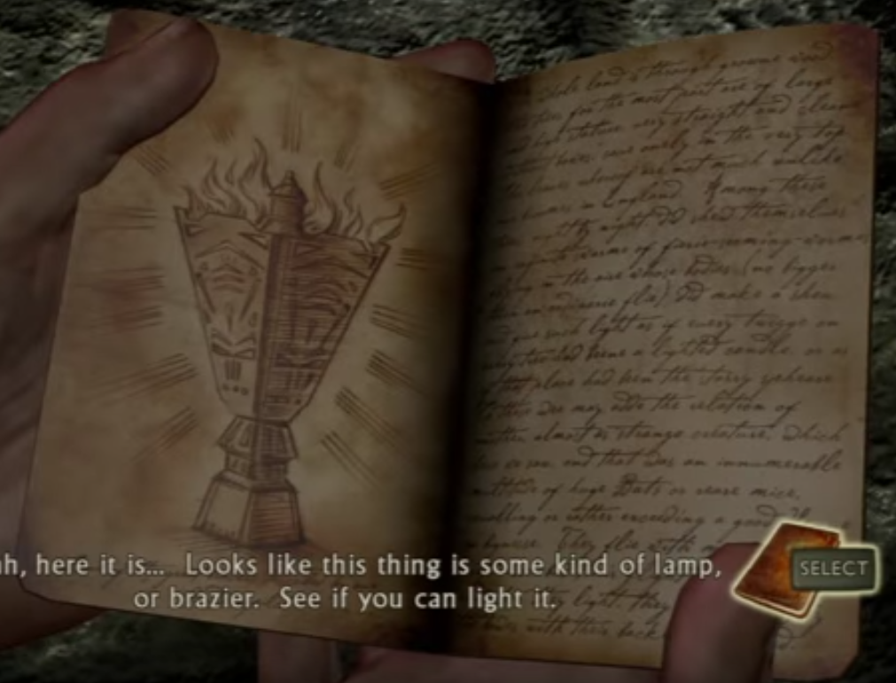 Uncharted 1 Page 1 Sentence Uncharted Nathan Drake Can Lights