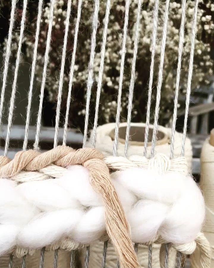 Soumak #weaving