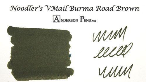 Noodler's V-mail Burma Road Brown Ink (3oz Bottle) Fountain Pen Ink