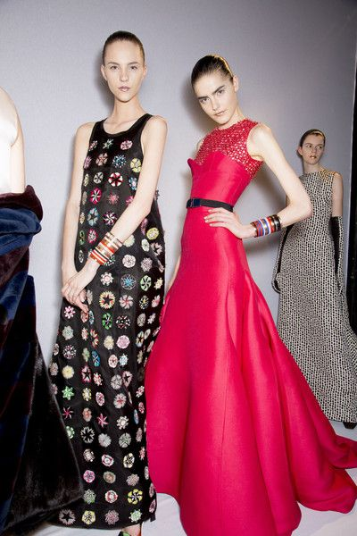 Christian Dior at Couture Fall 2013 - Backstage Runway Photos