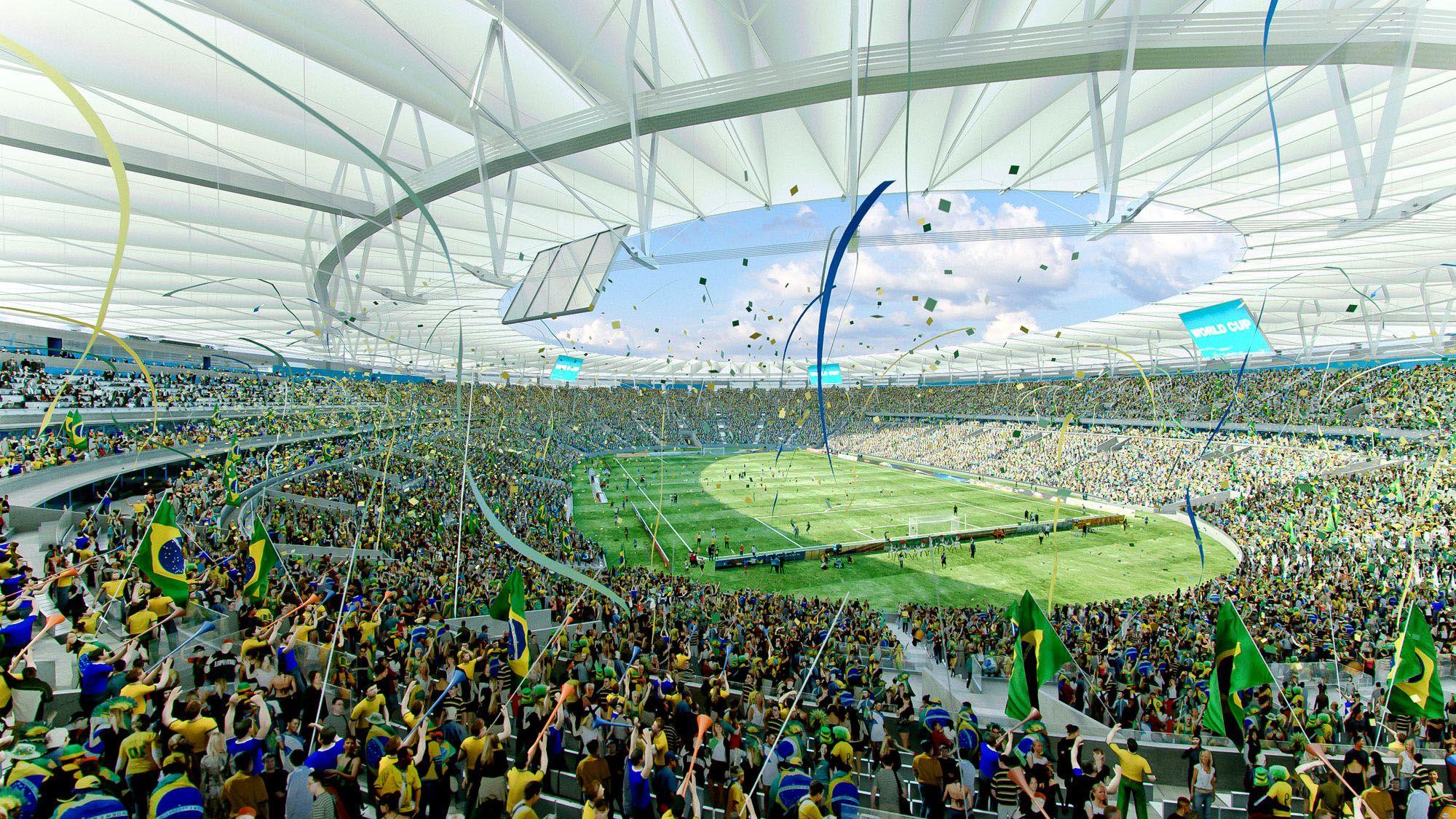 Brazil confederations cup maracan 2013 football for Lausanner fussballstadion