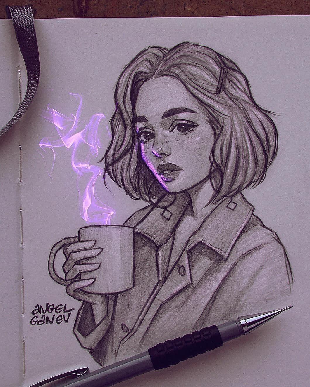 Yan Arts On Instagram Follow Us Yanarts Follow Yanart Drawing Artist Ange Sketsa Karya Seni Pensil Seni Menggambar