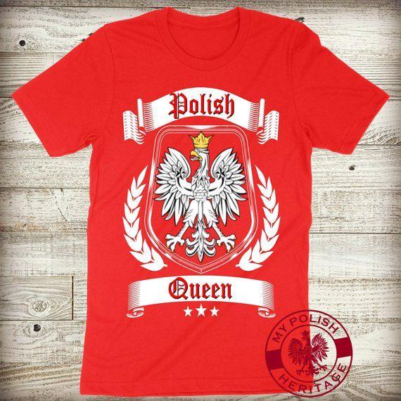 921361fdf549 Polish Queen Dyngus Day Shirt Poland Pride Sexy Ladies Women T-Shirt  Matching Family Mom Wife