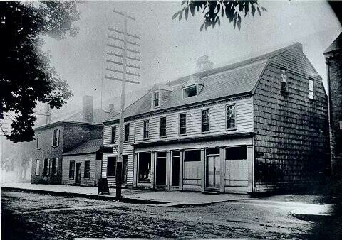 King S Coffee House Where Legislative Assy Met 1780s Fredericton New Brunswick Tear Down