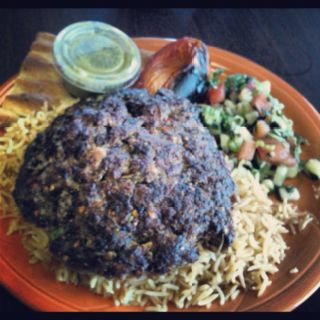 Chapli Kabab Lunch Plate From Sahara Market In Dublin Ca Halal Recipes Food Lunch