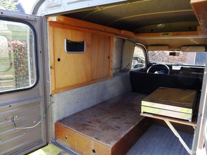 2cv fourgonnette camping car