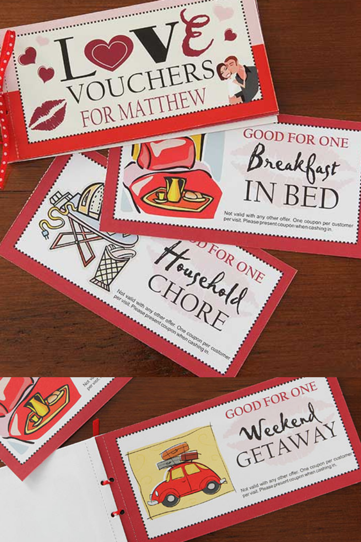 love vouchers to personalize for your sweetie add your own