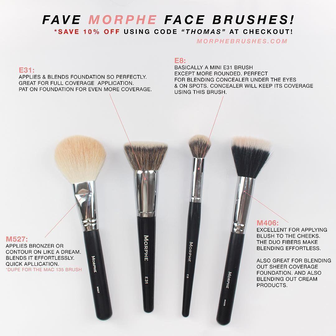 Morphe Brushes (Face) MakeupDupes AntiAgingMakeup in