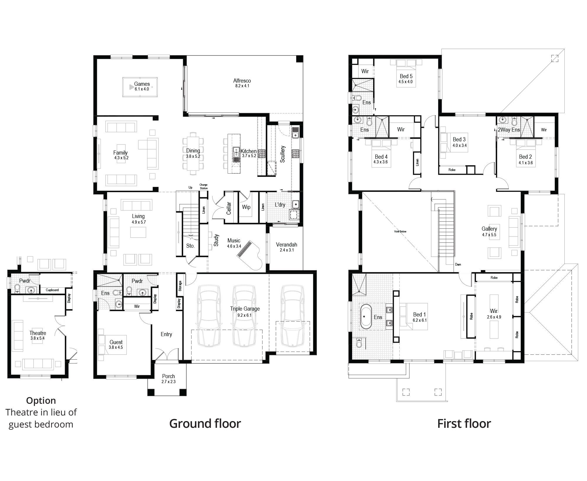Violet Design Hudson Homes Double Storey House Plans Large