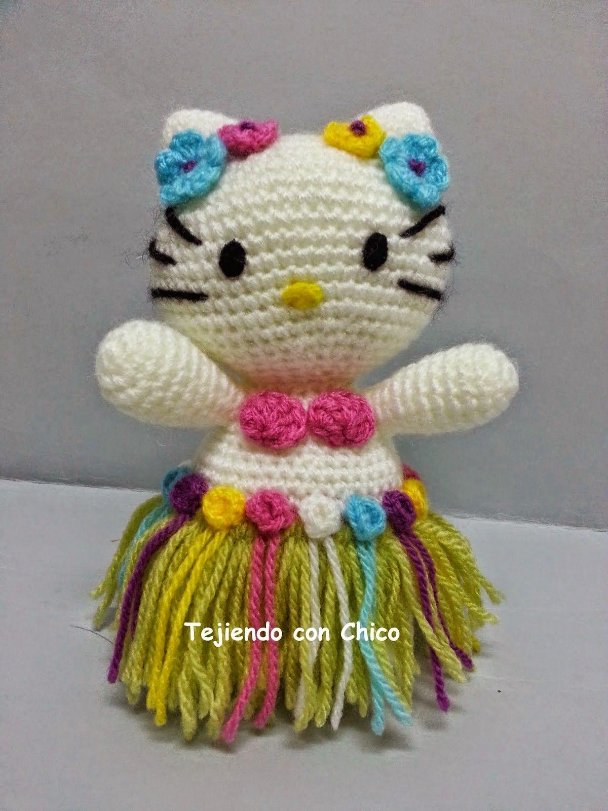 Hello Kitty hawaiana   Craft ideas   Pinterest   Hello kitty, Muñeca ...
