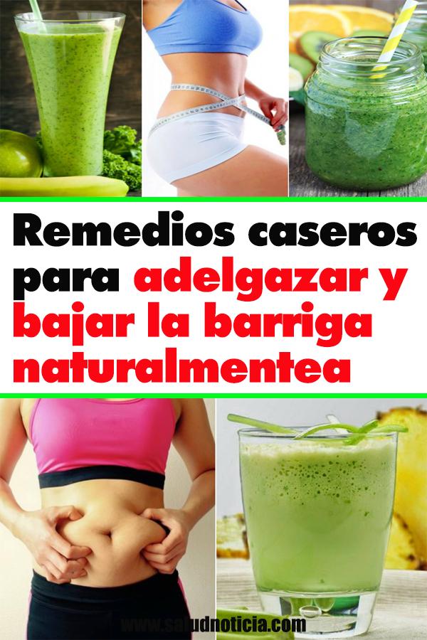 Remedios caseros para bajar de peso en menos de un mes