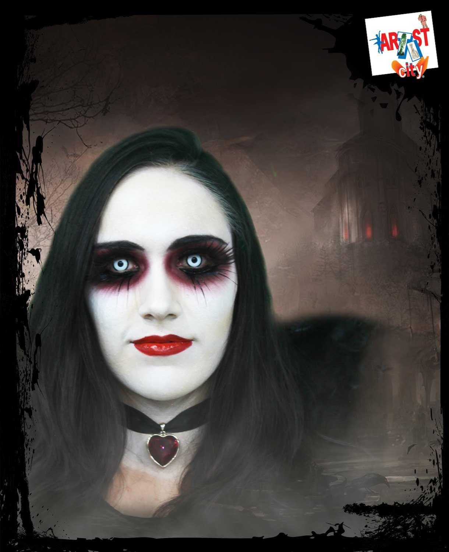 ngel demonio servicio de maquillaje en temporada de halloween con previa cita comuncate a tienda - Maquillaje Demonio