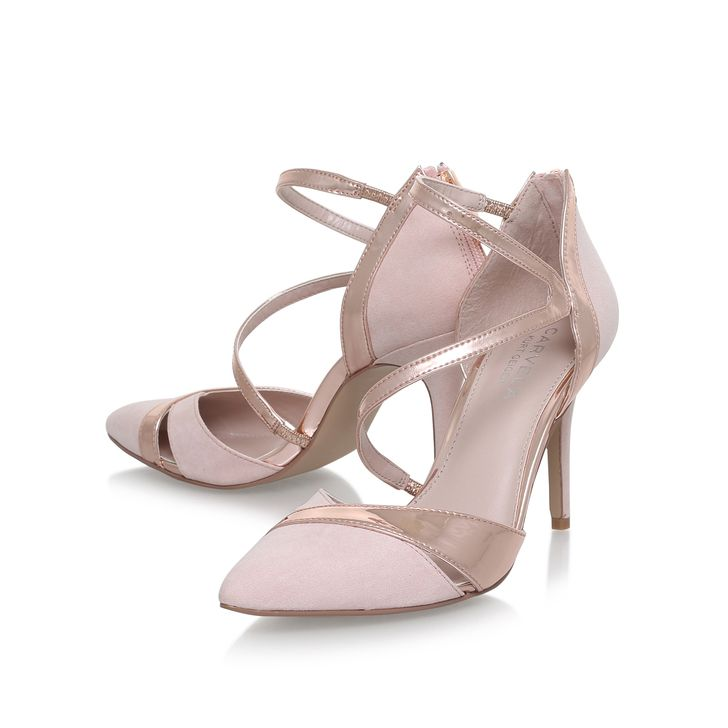 370db66c0 Lunar Nude Mid Heel Court Shoes By Carvela Kurt Geiger