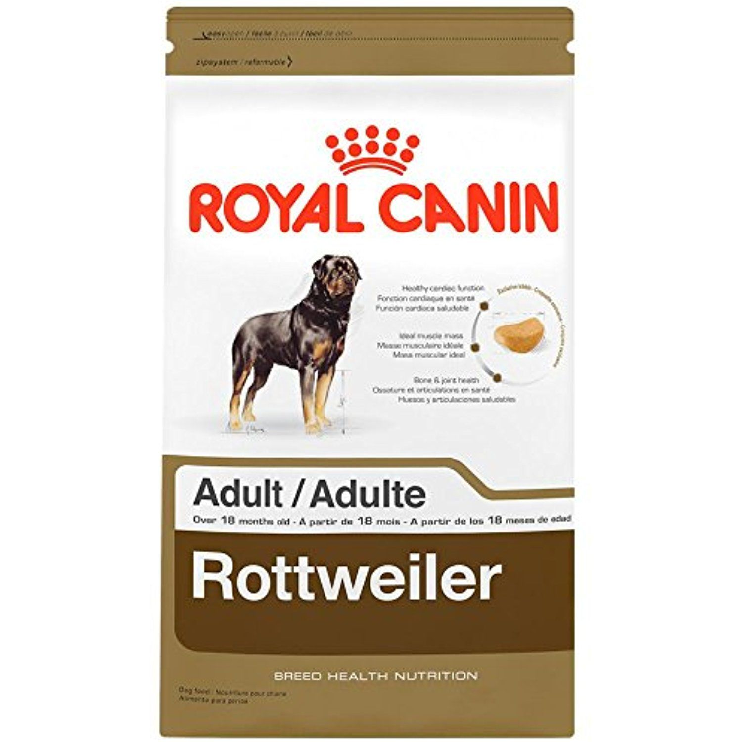 Royal Canin Breed Health Nutrition Rottweiler Adult30 Lb You Can Click Image To Review More Details T Dry Dog Food Royal Canin Dog Food Dog Food Recipes