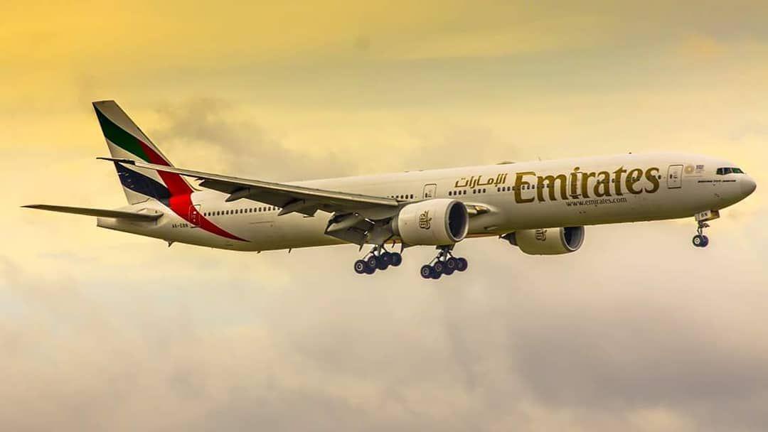 Emirates 777 Plane Planespotting Zagrebairport Aviationlover Landing Zagreb Aviation Passenger Jet