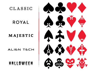 Playing Card Vector Symbols Playing Cards Design Playing Cards Art Playing Card Tattoos