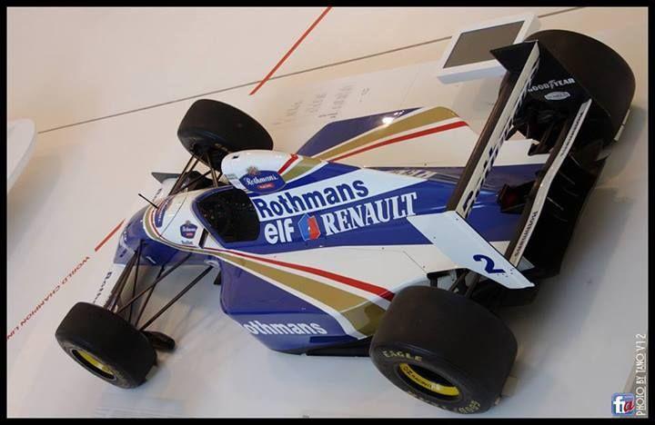 f1 Williams FW15 Ayrton Senna- Tano V12 — presso Museo Ferrari Maranello Modena İtaly.