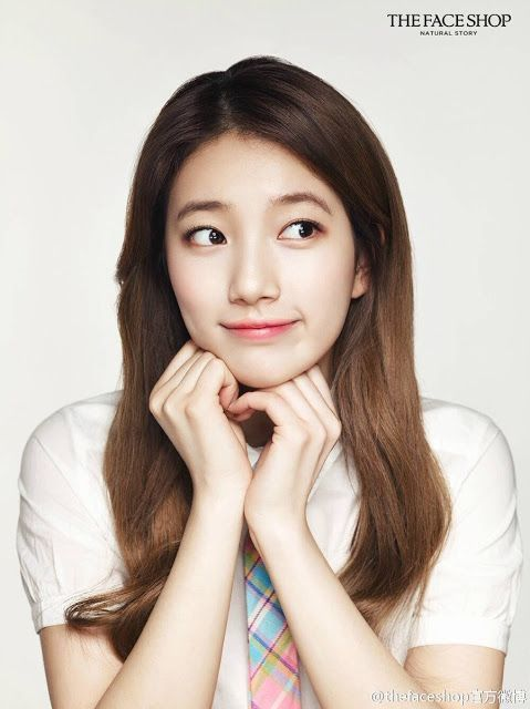 Suzy Is A Pure Beauty For The Face Shop China Beautiful Selebritas Wanita