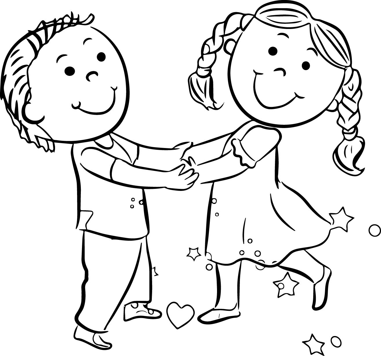 coloring pages kids boys - photo#8
