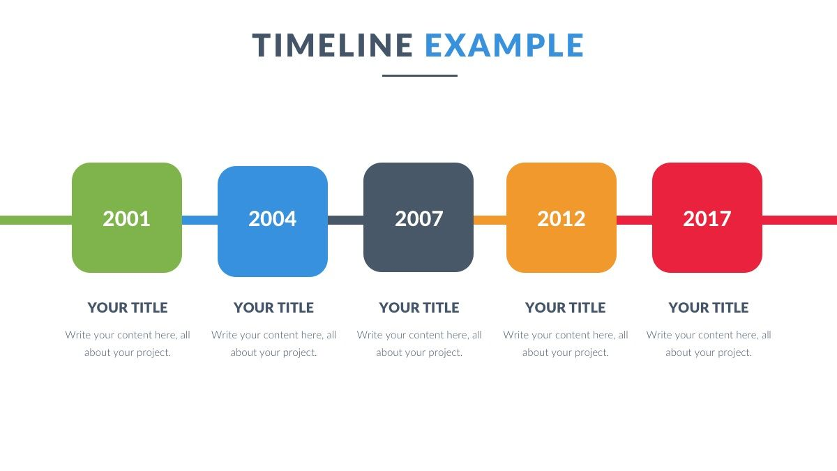Timeline Powerpoint Template Free Presentation Ppt Ilmainen - Free powerpoint timeline templates