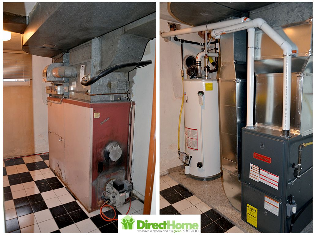 New Goodman Furnace And Water Heater Installed In Toronto Water Heater Hvac Home Estimate