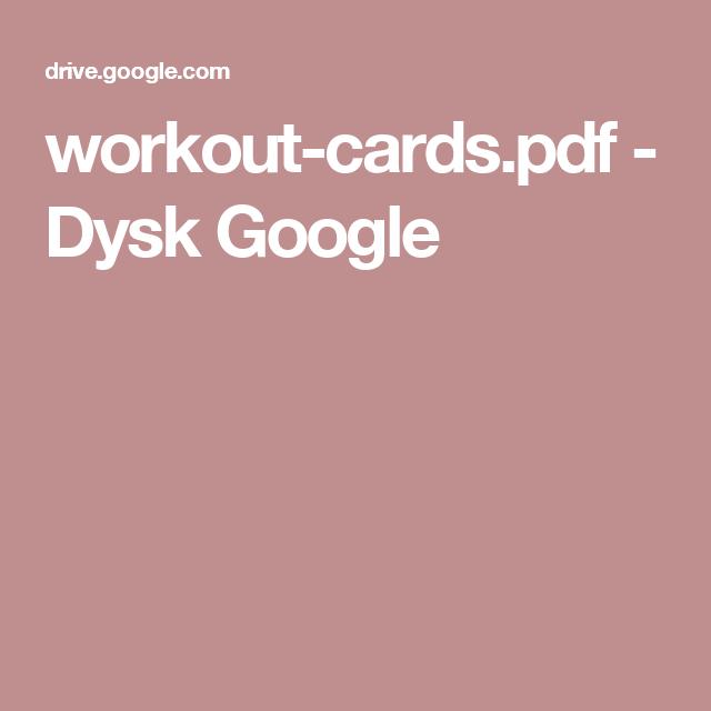 workout-cards.pdf - Dysk Google
