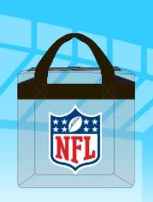 Free Nfl Atlanta Falcons All Clear Bag