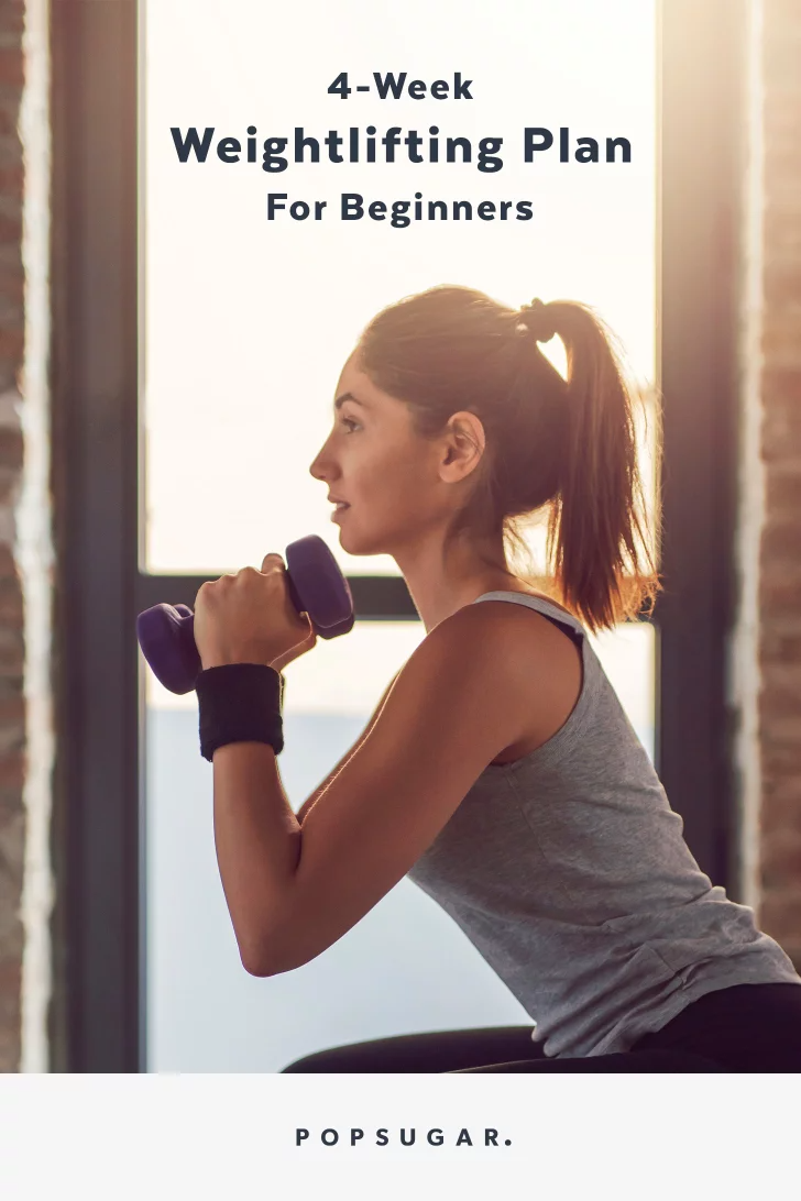 Learn How to Lift Weights (and Build Muscle) With This 4-Week Beginner Workout Plan